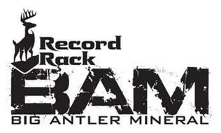 RECORD RACK BAM BIG ANTLER MINERAL