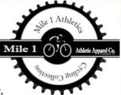 MILE 1 ATHLETICS CYCLING COLLECTION MILE 1 ATHLETIC APPAREL CO. WASHINGTON DC