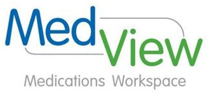 MED VIEW MEDICATIONS WORKSPACE