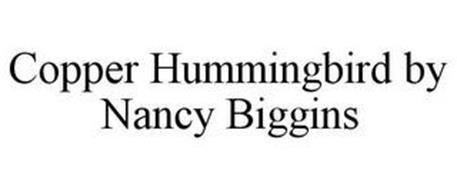 COPPER HUMMINGBIRD BY NANCY BIGGINS