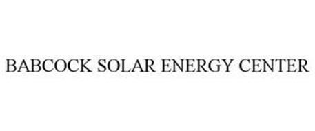 BABCOCK SOLAR ENERGY CENTER