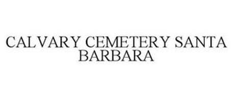 CALVARY CEMETERY SANTA BARBARA