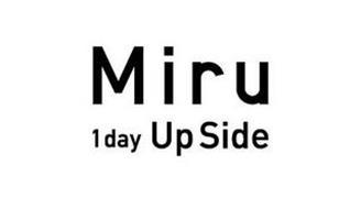 MIRU 1DAY UPSIDE