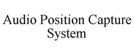 AUDIO POSITION CAPTURE SYSTEM