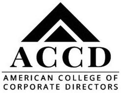 ACCD AMERICAN COLLEGE OF CORPORATE DIRECTORS