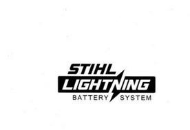 STIHL LIGHTNING BATTERY SYSTEM