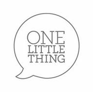 ONE LITTLE THING