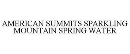 AMERICAN SUMMITS SPARKLING MOUNTAIN SPRING WATER