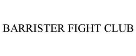BARRISTER FIGHT CLUB
