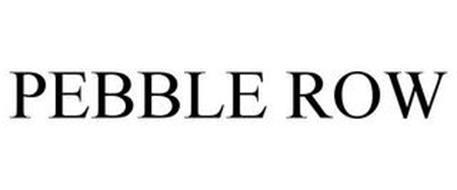PEBBLE ROW