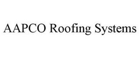 AAPCO ROOFING SYSTEMS