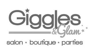 GIGGLES & GLAM SALON · BOUTIQUE · PARTIES