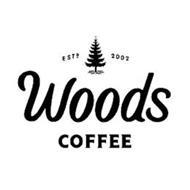 ESTD 2002 WOODS COFFEE