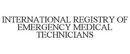 INTERNATIONAL REGISTRY OF EMERGENCY MEDICAL TECHNICIANS
