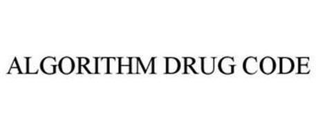 ALGORITHM DRUG CODE