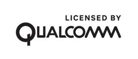 LICENSED BY QUALCOMM