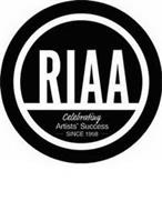 RIAA CELEBRATING ARTISTS' SUCCESS SINCE 1958