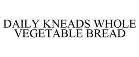 DAILY KNEADS WHOLE VEGETABLE BREAD