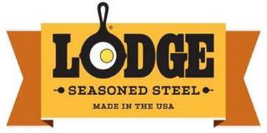 LODGE SEASONED STEEL MADE IN THE USA