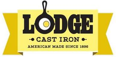 LODGE CAST IRON AMERICAN MADE SINCE 1896