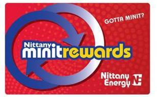 NITTANY MINITREWARDS GOTTA MINIT? NITTANY ENERGY
