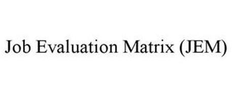 JOB EVALUATION MATRIX (JEM)