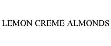 LEMON CREME ALMONDS