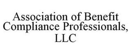 ASSOCIATION OF BENEFIT COMPLIANCE PROFESSIONALS, LLC