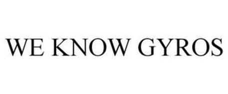 WE KNOW GYROS