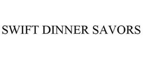 SWIFT DINNER SAVORS
