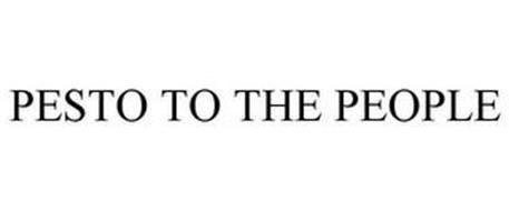 PESTO TO THE PEOPLE