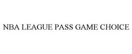 NBA LEAGUE PASS GAME CHOICE