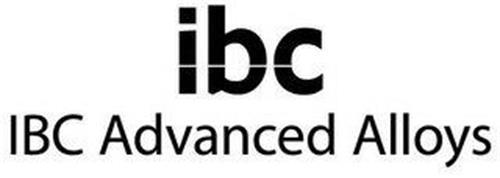 IBC IBC ADVANCED ALLOYS