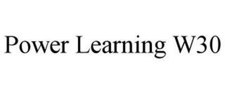 POWER LEARNING W30