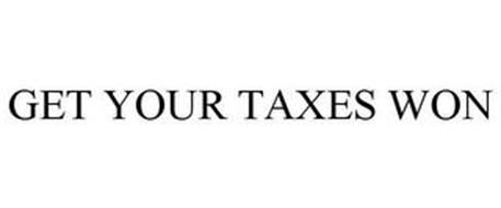 GET YOUR TAXES WON