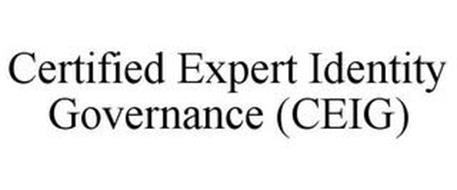 CERTIFIED EXPERT IDENTITY GOVERNANCE (CEIG)