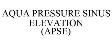 AQUA PRESSURE SINUS ELEVATION (APSE)