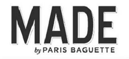 MADE BY PARIS BAGUETTE