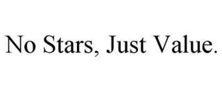 NO STARS, JUST VALUE.