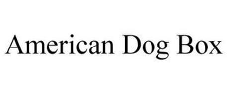 AMERICAN DOG BOX