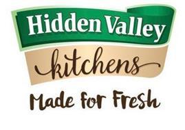 HIDDEN VALLEY KITCHENS MADE FOR FRESH