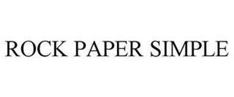 ROCK PAPER SIMPLE
