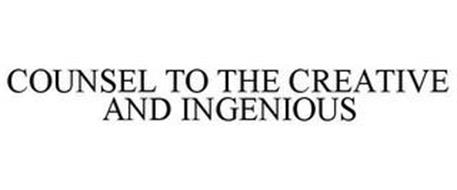 COUNSEL TO THE CREATIVE AND INGENIOUS