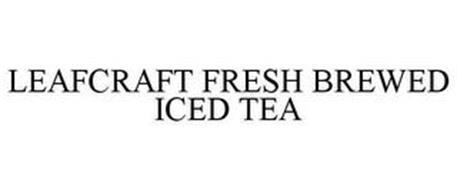 LEAFCRAFT FRESH BREWED ICED TEA