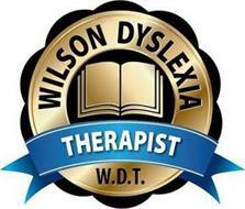 WILSON DYSLEXIA THERAPIST W.D.T.