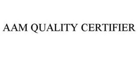 AAM QUALITY CERTIFIER