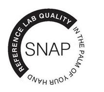 SNAP REFERENCE LAB QUALITY IN THE PALM OF YOUR HAND