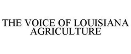 THE VOICE OF LOUISIANA AGRICULTURE