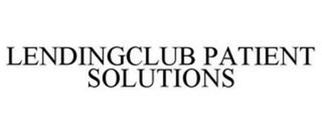 LENDINGCLUB PATIENT SOLUTIONS