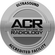 ULTRASOUND ACCREDITED FACILITY ACR AMERICAN COLLEGE OF RADIOLOGY